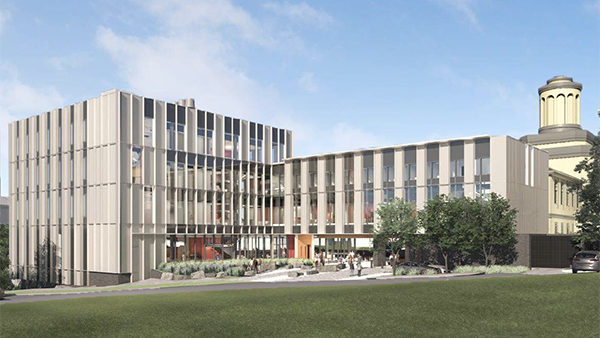 New Scaife Hall rendering