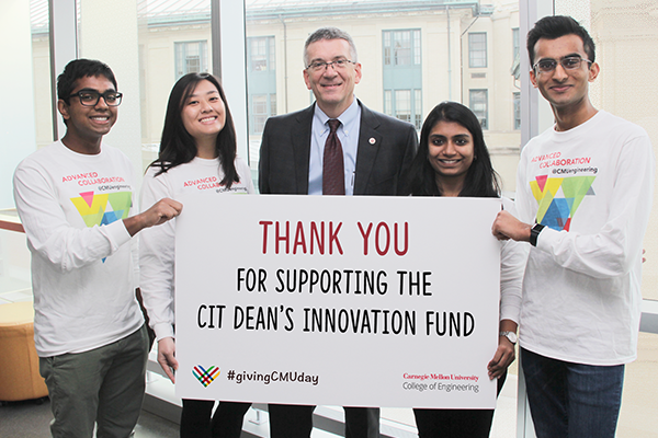 Thank you for giving to the Innovation Fund poster