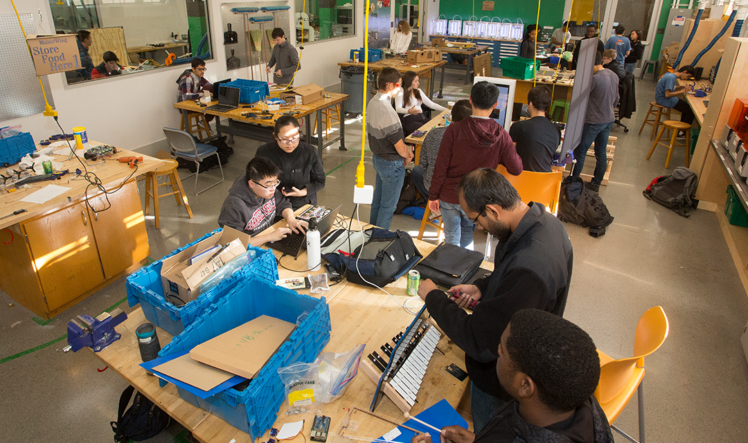 Maker spaces make a difference - College of Engineering at ...