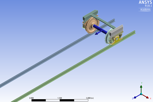 Screenshot from ANSYS software